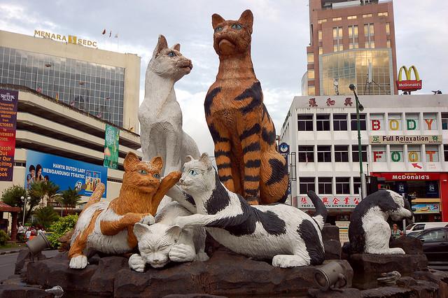 Kuching, Sarawak, Aku datang!!!